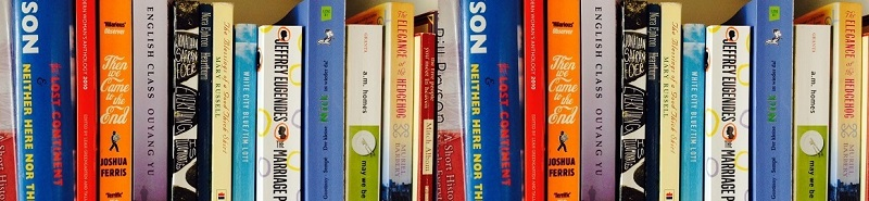 Book Spines at a site for book reviews and reading ideas for those who love the classics